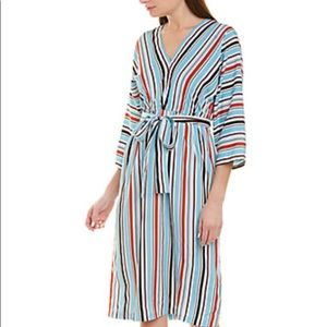 French Connection MultiStripe Dress Size 0 NWT
